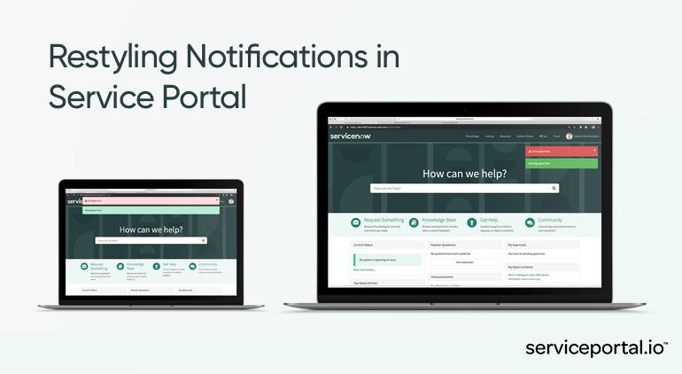 Service Portal Service Now Self Service System Employee